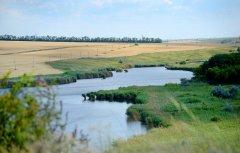 Рыбалка на пруду в с. Яблоновка, Донецкой области-1