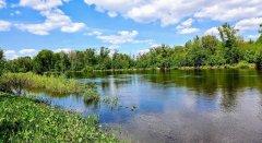 Рыбалка на речке Остёрка в г. Остер Черниговской области-1