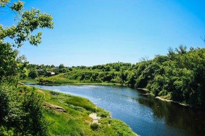 Рыбалка на Уманском водоеме в с. Яснобродовка, Донецкой области-1