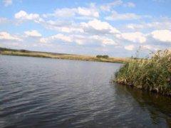 Рыбалка на Затишанском втором озере в с. Затишье, Донецкой области-2
