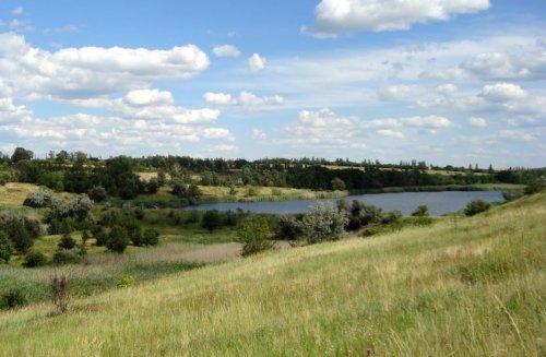 Рыболовная база Сухая балка в Днепропетровской области