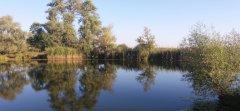 Солонецкое озеро на реке Десна у пос. Остер Черниговской области-1