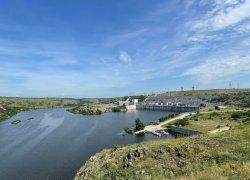 Река Южный Буг ниже Александровской ГЭС в Николаевской области