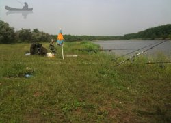 Рыбалка на Маяке в с. Гуровка Кировоградской области-1