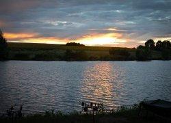 Рыбалка на пруду Первые Бугаи в Харьковской области