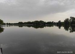 Рыбалка на ставке в с. Пески Луганской области