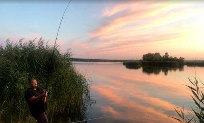 Озеро Камплица (Задонецкое) в Харьковской области