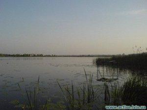 Озеро в г. Ходоров Львовской области-1