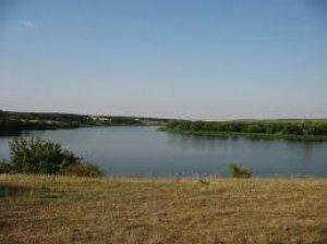 Рыбалка на озере в с. Кропивницкое Кировоградской области-1