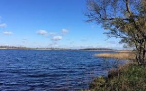 Рыбалка на озере в с. Забара Ровенской области-1