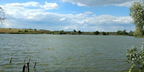 Рыбалка на водохранилище в с. Берёзовка Кировоградской области-1