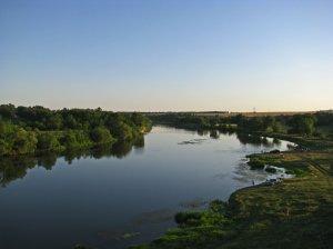 Устье реки Большая Корабельная при впадении в Южный Буг в Николаевской области-1