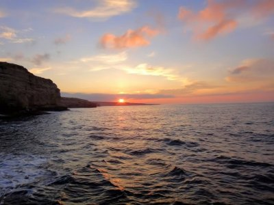 Рыбалка на водоеме -  Белая скала