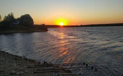 Рыбалка на Альминском водохранилище