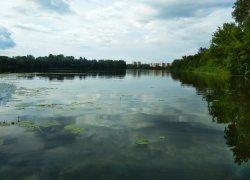 Рыбалка в селе Терешковка