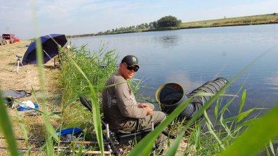 Рыбалка на Акимовском ставке (ЧП