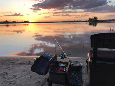 Рыбалка на реке Калоша