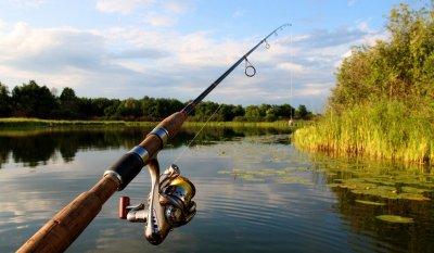Рыбалка в Березовке Харьковской области