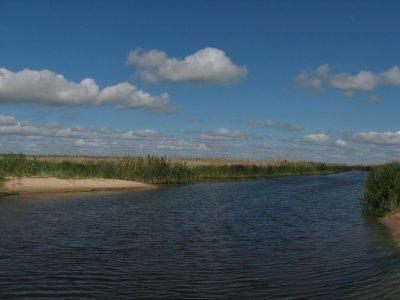 Рыбалка в селе Белоцерковка