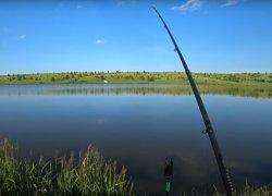 Рыбалка на водоеме в с. Бортники