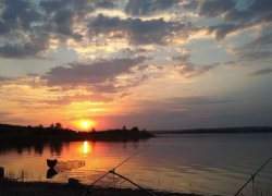 Рыбалка на озере Ли
