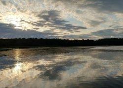 Рыбалка на  Луковском озере в Ровенской области