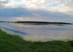 Рыбалка на водохранилище в с. Хренники Ровенской области