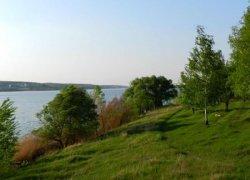 Травянское водохранилище в Харьковской области