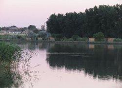 Рыбалка на водоеме в  селе Мирном