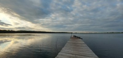 Озеро Луко в Ровенской области