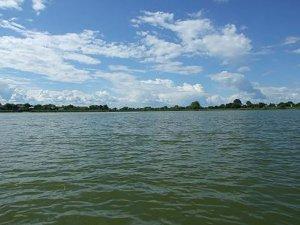 Рыбалка у села Новый Мосыр