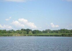 Рыбалка на ставке в селе Николаевка