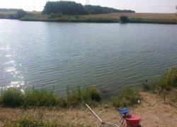Рыбалка у села Орловка на водоеме «Зорянский»