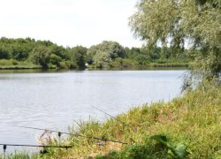 Водоем Гармановский Бам в Кировоградской области