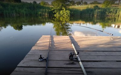 Озеро Кадан в Киевской области-1