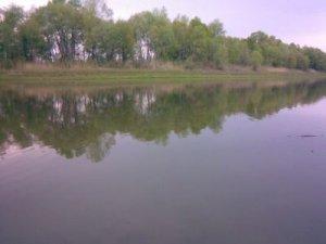 Рыбалка у села Першотравенка в Днепропетровской области-1