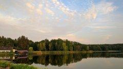 Рыбалка у села Царевка в Житомирской области-1