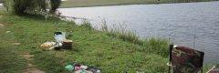 Рыбалка у села Твориничи Волынской области