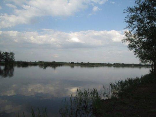 Водоем у села Рачин Волынской области