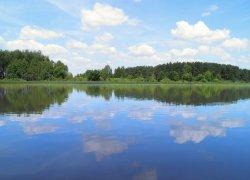 Озеро Любязь в Волынской