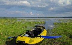 Озеро Любязь в Волынской области