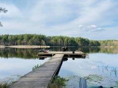 Озеро Плитница в Житомирской области