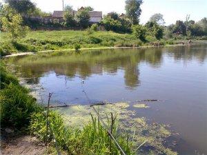Рыбалка на озерах Качкаровка в Луцке Волынской области