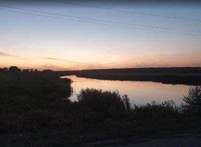 Рыбалка у села Курошаны в Запорожской области-1