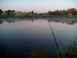 Рыбалка у села Лавров Волынской области