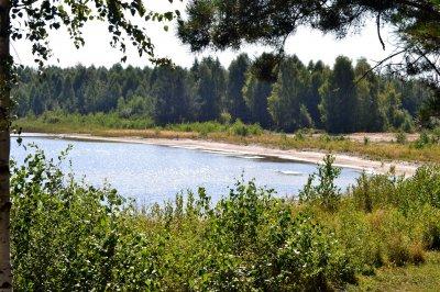 Рыбалка у села Цмины Волынской области