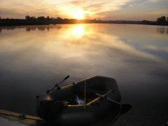 Рыбалка в селе Тростянец Волынской области