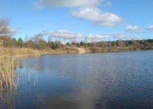 Водоем Чебени в Волынской области