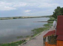 Рыбалка на ставке в с. Сахно Запорожской области-1