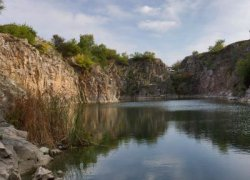 Рыбалка у села Елисеевка в Запорожской области-1